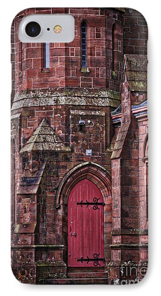 Red Door IPhone Case by Kate Purdy
