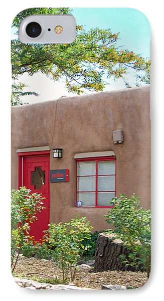 Red Door IPhone Case by Sylvia Thornton