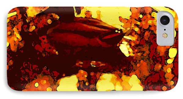 Red Duck Lake 6 Phone Case by Amy Vangsgard