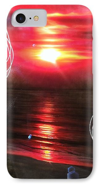 Ocean - ' Red Earth ' IPhone Case