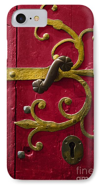 Red Entrance IPhone Case
