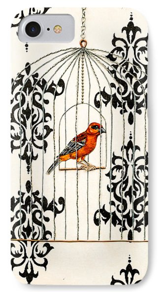 Red Finch IPhone Case