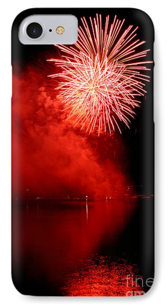 Red Fire IPhone Case by Martin Capek