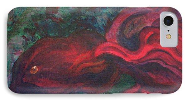 Red Fish Phone Case by Sheri Lauren Schmidt