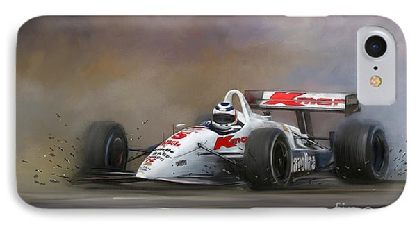 Red Five - Nigel Mansell IPhone Case by Linton Hart