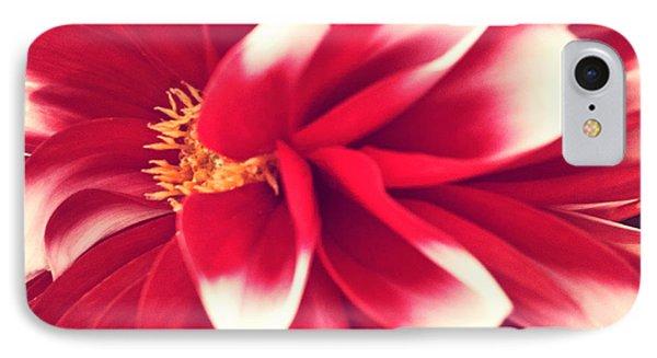 Red Flower Phone Case by Beril Sirmacek