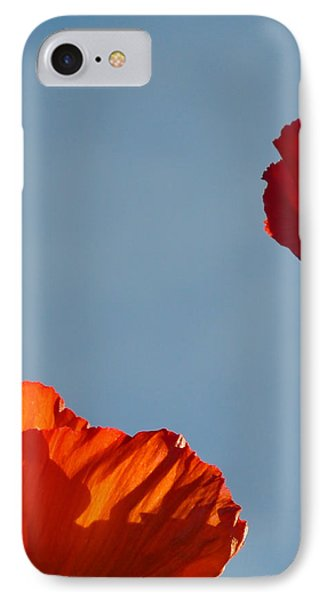 Red Flowers IPhone Case by Stuart Hicks
