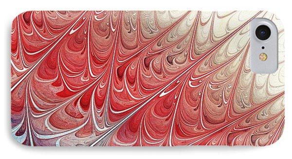 Red Folium IPhone Case