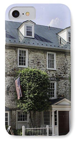 Red Fox Inn IPhone Case by Arlene Carmel