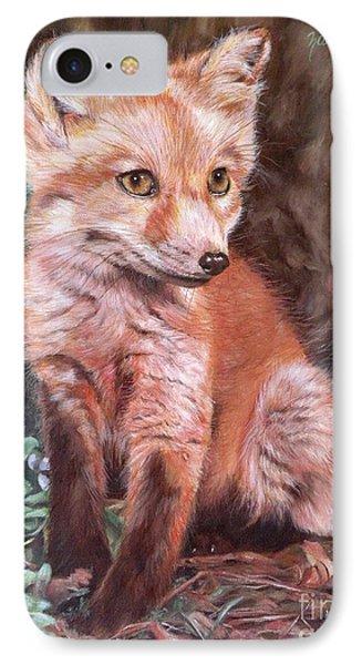 Red Fox Kit Phone Case by Nancy Andresen