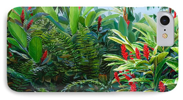 Red Garden Hawaiian Torch Ginger IPhone Case