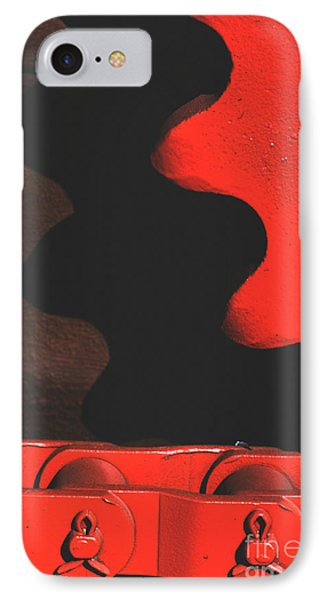Red Gear IPhone Case