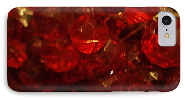 Red Glass Grapes IPhone Case