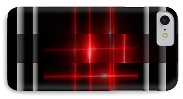 Red Glory Reflections  IPhone Case by Gayle Price Thomas