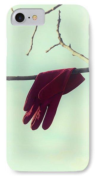 Red Glove Phone Case by Joana Kruse