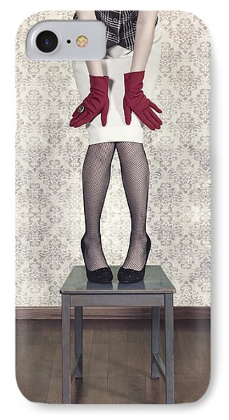 Red Gloves Phone Case by Joana Kruse