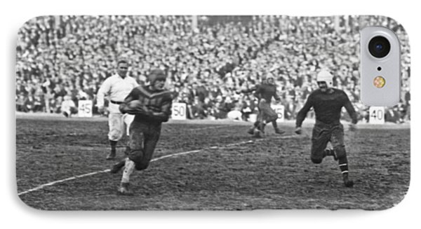 Red Grange Ny Pro Debut IPhone Case