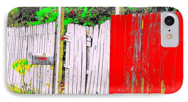 Red Grey Gate 0552 14 IPhone Case