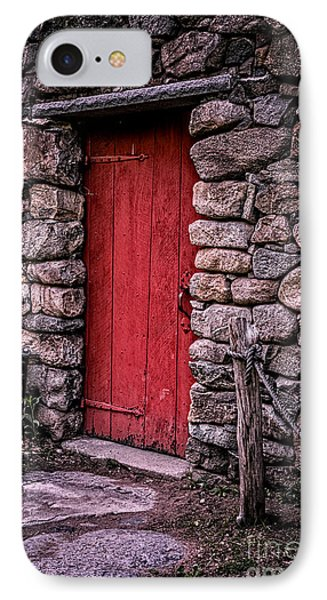 Red Grist Mill Door IPhone Case