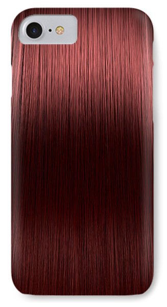Red Hair Perfect Straight IPhone Case