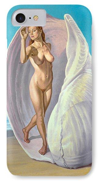 Red-haired Venus Phone Case by Paul Krapf