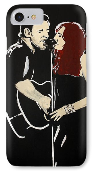 Red Headed Woman IPhone Case by Carmencita Balagtas