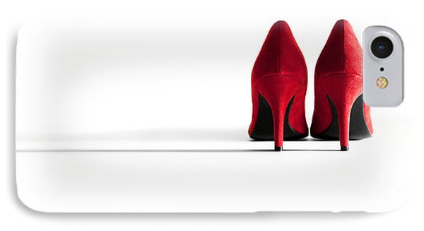 Red High Heel Shoes Phone Case by Natalie Kinnear