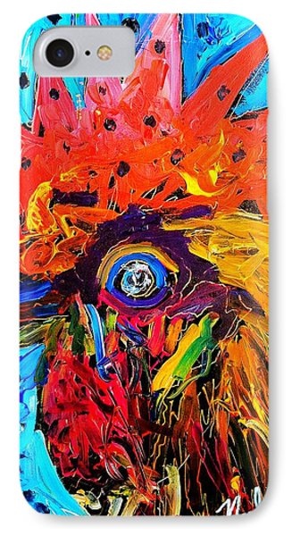 Red Hill Rooster Was Painted During Live Music IPhone Case