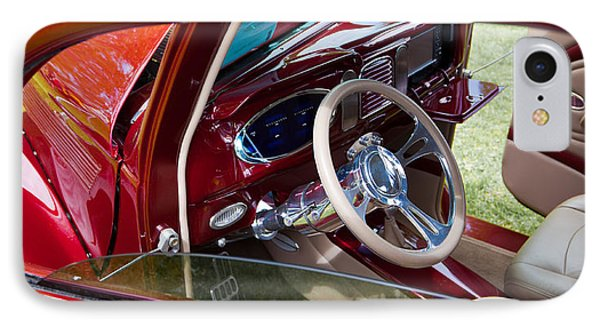 Red Hot Rod Interior IPhone Case by Mick Flynn