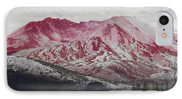Red Hot St Helen IPhone Case by Rich Collins
