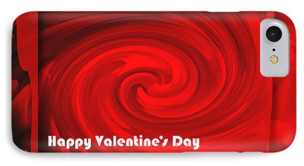 IPhone Case featuring the photograph Red Hot Valentine by Cheryl McClure