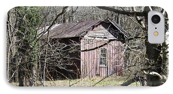 IPhone Case featuring the photograph Red House by Nick Kirby