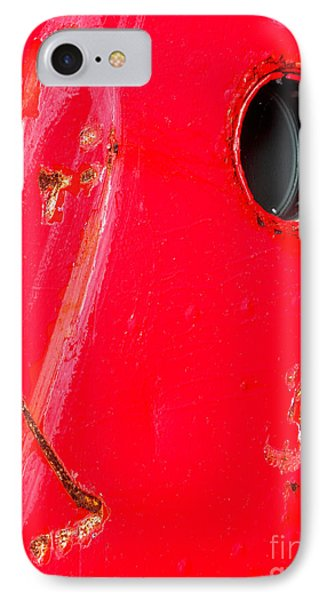 IPhone Case featuring the photograph Red Hull by Robert Riordan