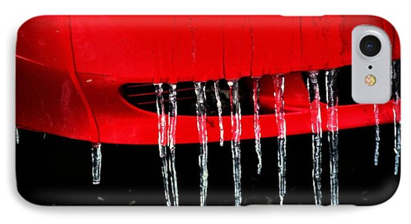 Red Ice IPhone Case by Michael Dohnalek