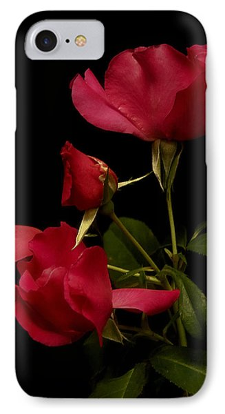 IPhone Case featuring the photograph Red Is For Passion by Lucinda Walter