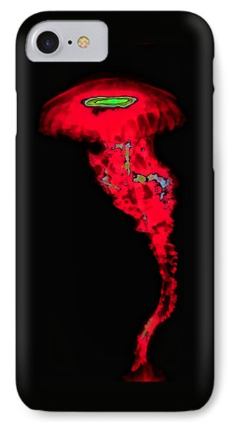 Red Jelly Phone Case by Wendy J St Christopher