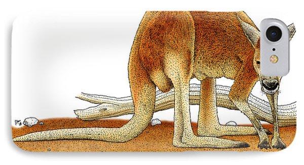 Red Kangaroo IPhone 7 Case