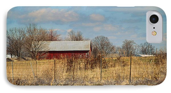 Red Kentucky Relic Phone Case by Paulette B Wright