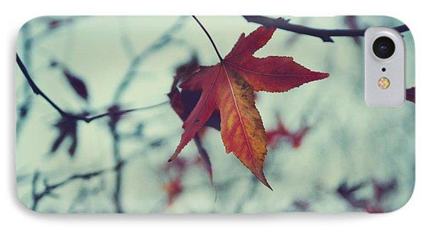 Red Leaf IPhone Case by Jelena Jovanovic