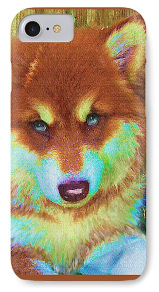 Red Malamute Phone Case by Jane Schnetlage