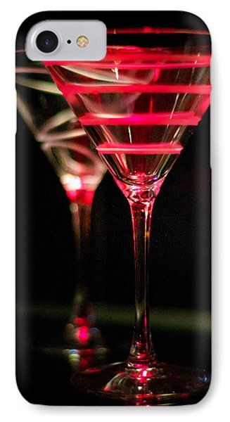 Red Martini IPhone Case
