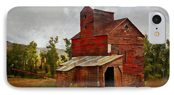 Red Mill Montana Phone Case by Marty Koch