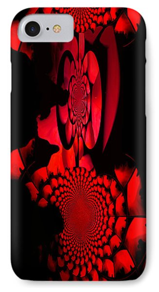 IPhone Case featuring the painting Red October Iphone Case by Robert Kernodle