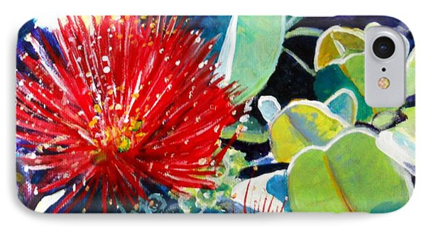 Red Ohia Lehua Flower IPhone 7 Case