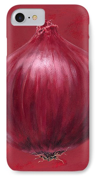 Red Onion IPhone Case by Brian James