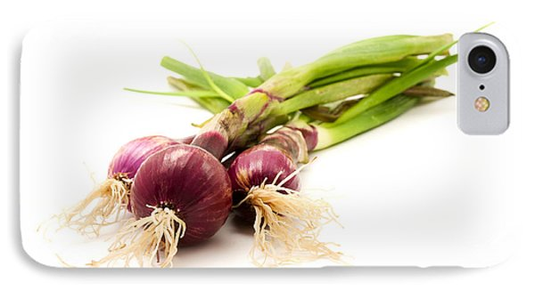 Red Onions IPhone Case by Fabrizio Troiani