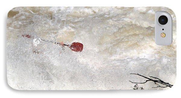 Red Paddle IPhone Case by Carol Lynn Coronios