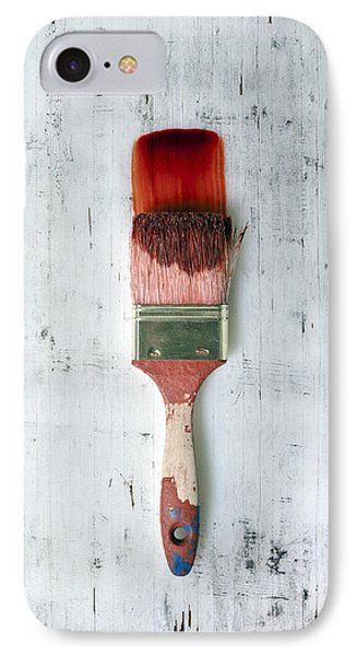 Red Paint IPhone Case by Joana Kruse