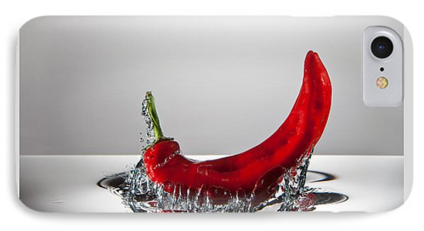 Red Pepper Freshsplash IPhone Case