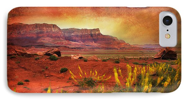 Red Planet Phone Case by Barbara Manis